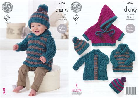 chunky wool knitting patterns for babies chunky knit knitting pattern king cole baby coat jumper