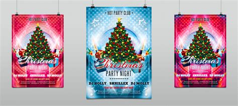 Free Xmas Party Flyer Hollymolly Caroling Flyer Template