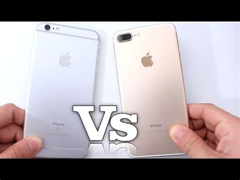 iphone 7 plus vs iphone 6s plus performance