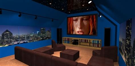 outstanding attic home theaters