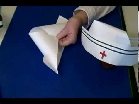 How To Make A Nurses Hat Out Of Paper - a nurses cap and doctors light dedicated to the amazing