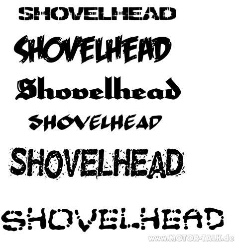 design font harley davidson shovel fonts shovelhead 1984 1340ccm harley davidson