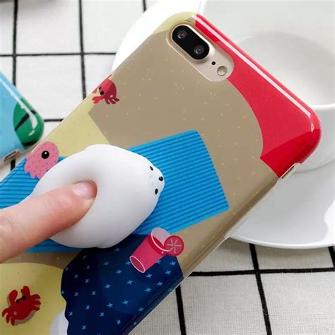 Iphone 6 6s Squishy Lucu by Squishy Cat Claw For Iphone 6 Plus 6s Plus Blue