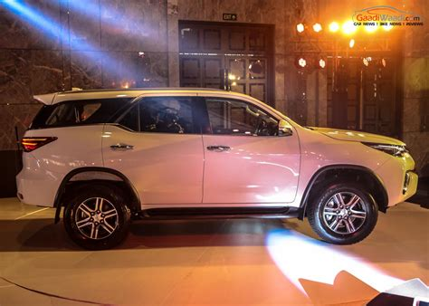 Toyota Fortuner Price In India Ground Clearance Vehicle List Autos Post