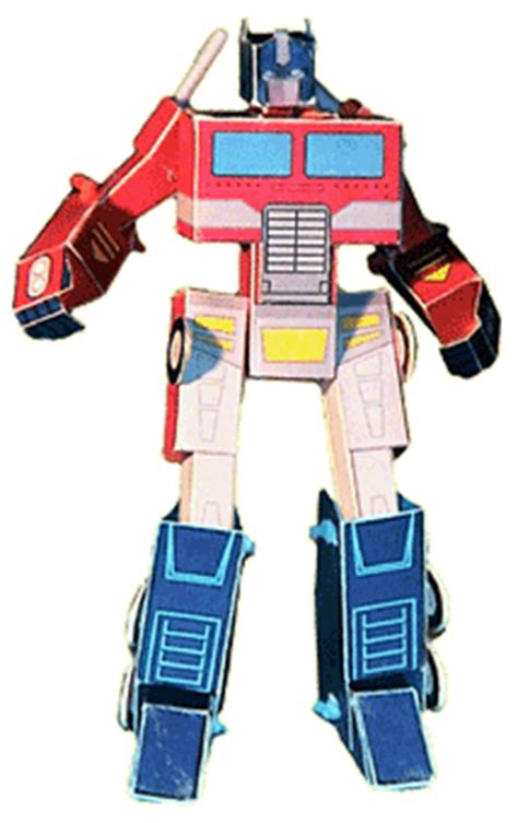 How To Make Optimus Prime Out Of Paper - this perticuler optimus prime is real complax also this