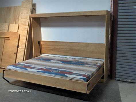 do it yourself murphy bed murphy panel side bed full do it yourself kit soft close