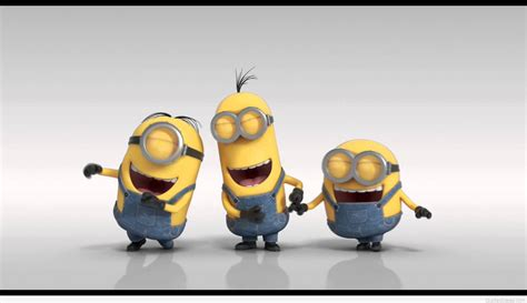 for a laugh minion laughing quote with a picture