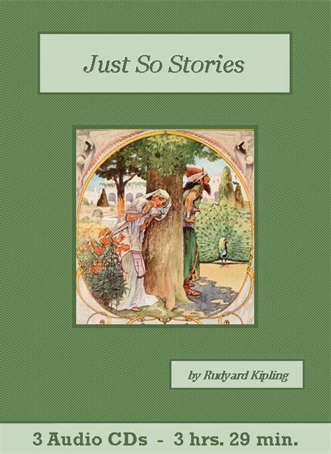 just so stories childrens just so stories children s audiobook cd set st clare audio