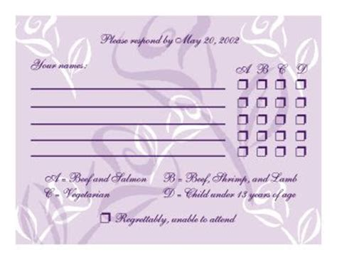 wedding rsvp menu choice template wedding invitations gt gt wedding invitations cards wedding invitations design fall wedding