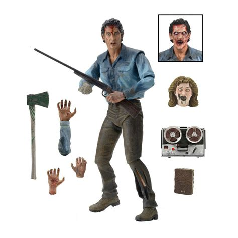 figure 7 inch evil dead 2 ash ultimate 7 inch figure