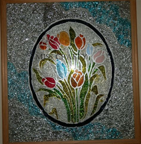 free glass painting glass painting patterns of 2012 photoframe made using