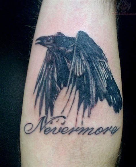 nevermore tattoo nevermore