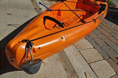 homemade boat anchor design diy setups for your fishing kayak