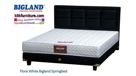 Bed Bigland Tahun Flora White Bigland Bed Agen Termurah