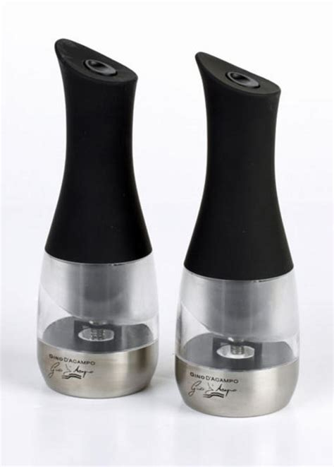 gino electric pepper mill set small kitchen appliances