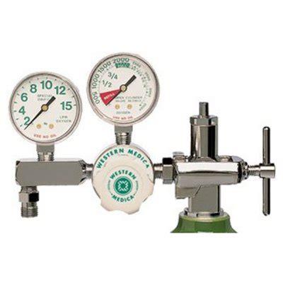 Regulator Oxygen General Care flow oxygen regulators single stage model