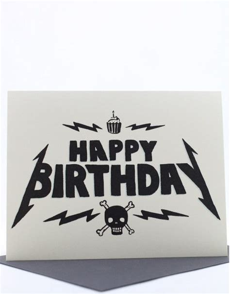 Heavy Metal Birthday Cards 96 Best Images About Birthday On Pinterest Birthday