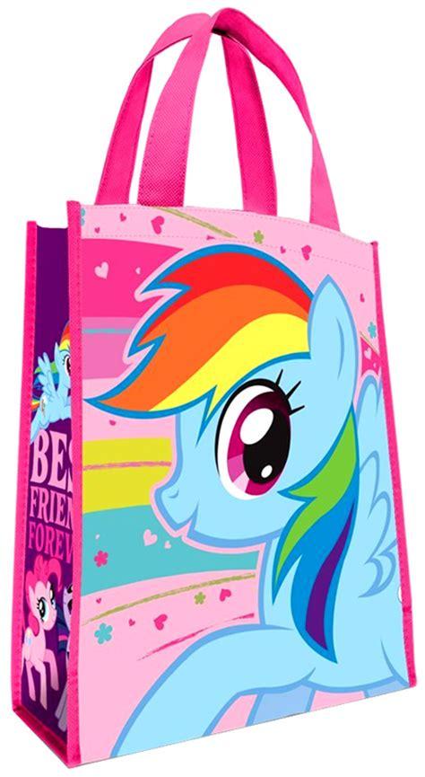 Bgc My Pinkie Pony Rainbow Dash And Friends Kantung Depan Tas R my pony best friends forever tote bag pinkie pie rainbow dash on sale at toywiz