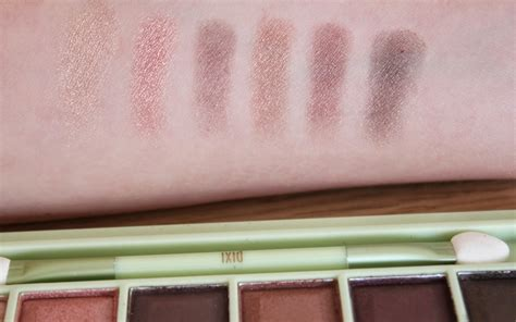 Pixy Eyeshadow Summer Review fundamentally flawless pixi make up review