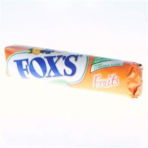 Foxs Berries Bag 90 Gr by Supplier Permen Coklat
