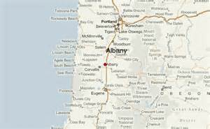 where is albany oregon on map albany oregon location guide