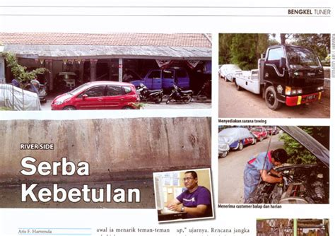 Majalah Bobo 17 April 2008 riverside automotive workshop rally team