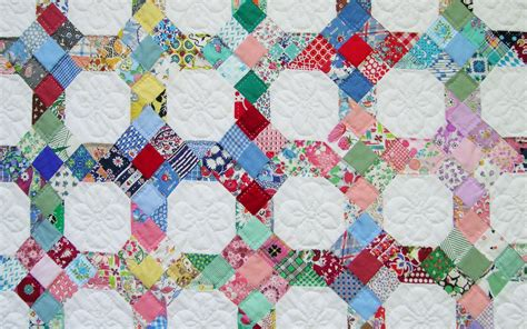 Patch Quilt by 9 Patch And Snowball Quilt Q Is For Quilter