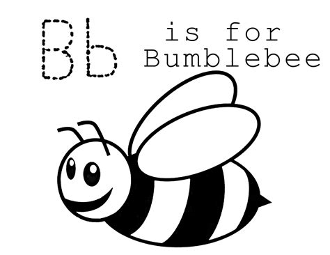 Coloring Pages Of Bumble Bees free printable bumble bee coloring pages for