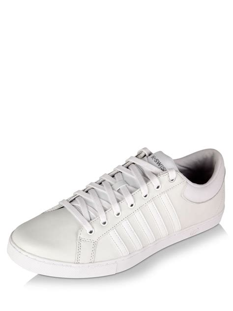 k swiss classic shoes buy k swiss classic leather tennis shoes for s