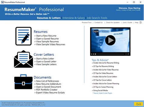Resume Maker Professional by Resumemaker Professional Deluxe 20 1 0 115