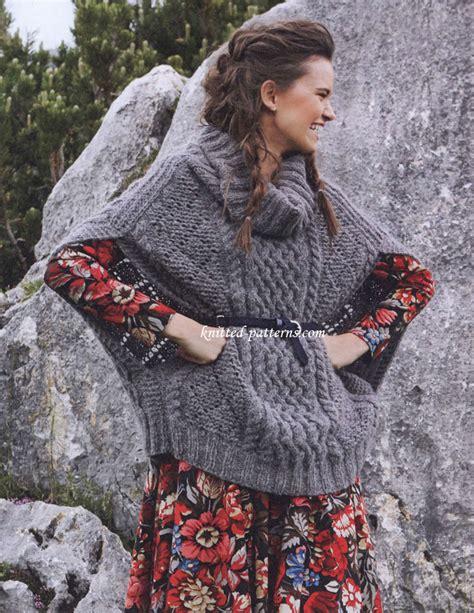 Sweater Rajut Wool Cewe alpaca ponchos from peru newhairstylesformen2014