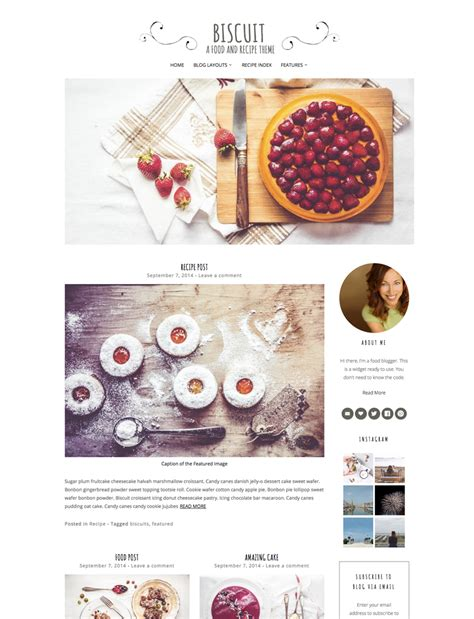 themes wordpress food the best yummy wordpress food blog themes for recipes and