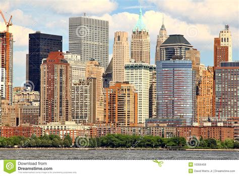 West Side Manhattan Manhattan West Side Royalty Free Stock Photos Image