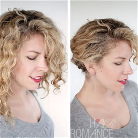 cute hairstyles hair tutorial with twist crossed curly twist and pin archives hair romance