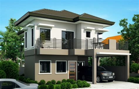 four story house sheryl four bedroom two story house design pinoy