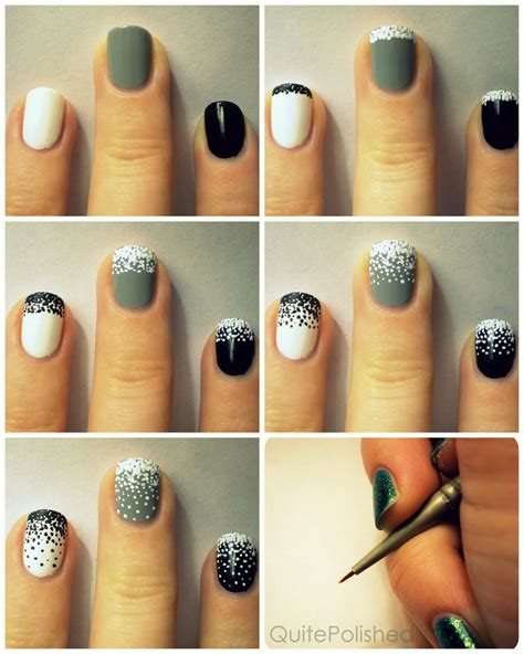 tutorial nail art love 25 simple nail art tutorials for beginners