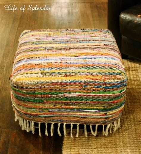 how to store rugs 17 best footstool ideas on www banco popular