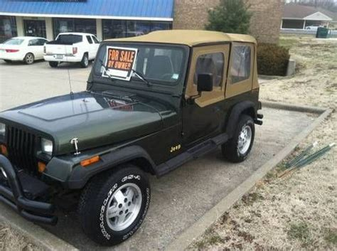 Jeep Wrangler Grande Buy Used Jeep Wrangler 1995 Grande Automatic Yj 87 95