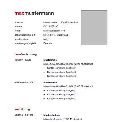 Ausführlicher Lebenslauf Word Vorlage Moderner Lebenslauf In Tabellarischer Form Als Kostenlose Vorlage F 252 R Microsoft Word Ab 2007