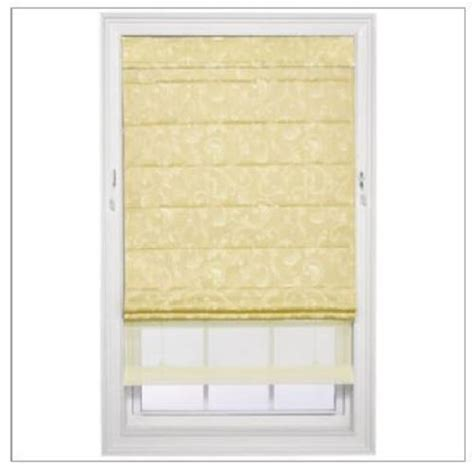 double window treatments new jcpenney home custom spencer double roman shade window