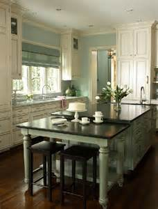green kitchen islands the island kitchen design trend here to stay