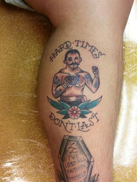 traditional boxer tattoo traditional bare knuckle boxer by steve rieck las