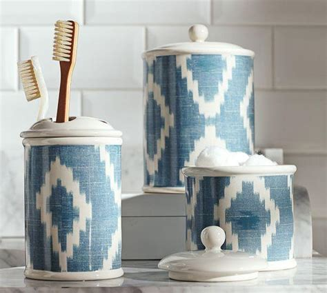 pottery barn bathroom accessories ikat bath accessories pottery barn
