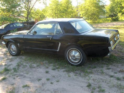 1965 mustang project car for sale 1965 mustang coupe project car and parts car 1964 1 2