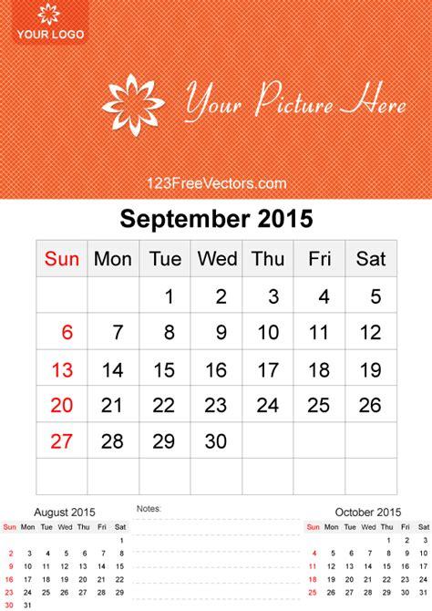 printable daily calendar september 2015 september 2015 calendar template vector free by