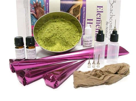 henna tattoo kit big bad starter henna kit for beginning henna artists