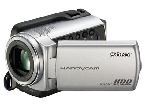 Handycam And archived dcr sr47e disk drive hdd handycam 174 camcorder sony australia
