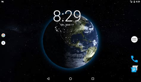 live wallpaper earth rotation earth 3d live wallpaper 3 1 apk download