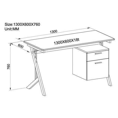 altezza scrivania ufficio sixbros scrivania porta pc bianco lucido ct 3365a 1128