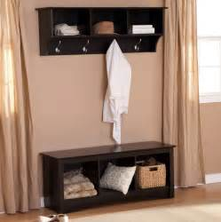 entryway bench with coat rack and storage entryway storage bench with coat rack black